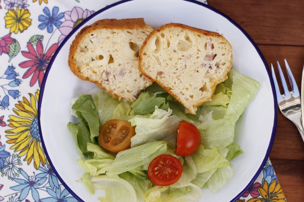 Perfecto como una comida de verano, acompañanado de una ensalada.