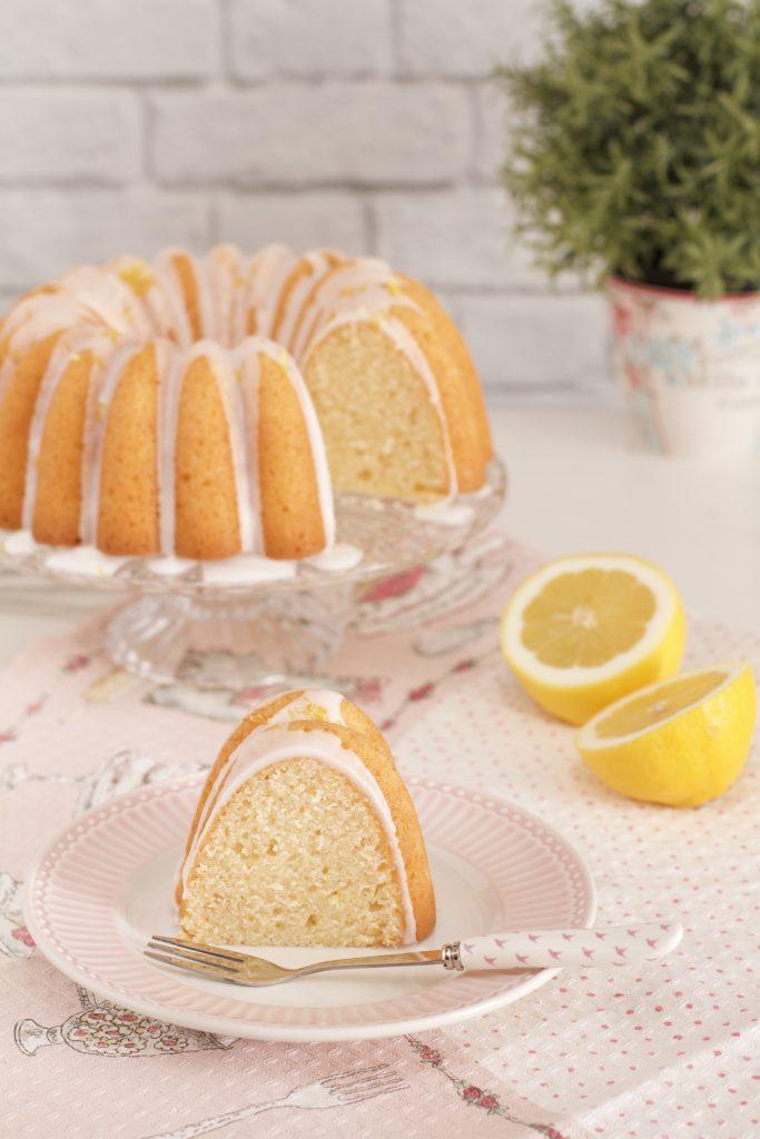 Bizcocho de triple limón